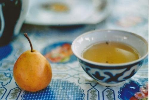 tea in tashkent, uzbekistan